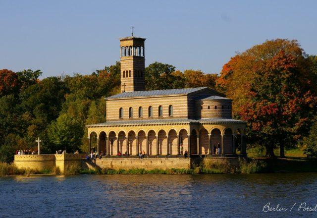 Potsdam vom Wasser aus